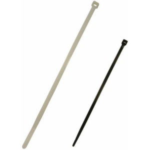 "100 x 2.5mm Cable Ties in Natural (4"")"