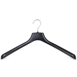 Black plastic suit hanger SA45 402-108