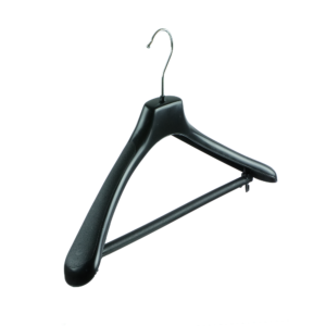 plastic jacket hanger with bar 402-110