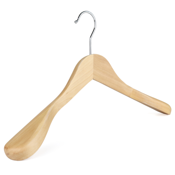 wooden jacket hanger 402-618