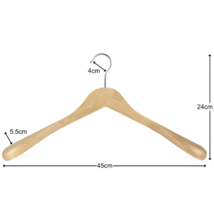 wooden jacket hanger 402-622