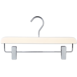 wooden hanger trouser with clips 35cm 404-642