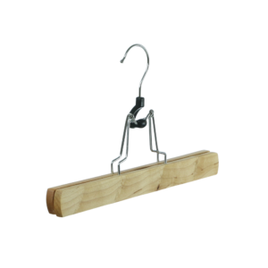 wooden hanger trouser clamp 402-632