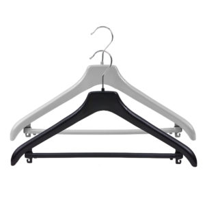 Plastic hanger colour variations group