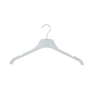 plastic hangers frosted hangers 407 046 front