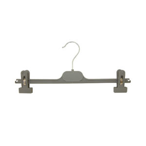 plastic hangers grey and white hangers 402 222 front