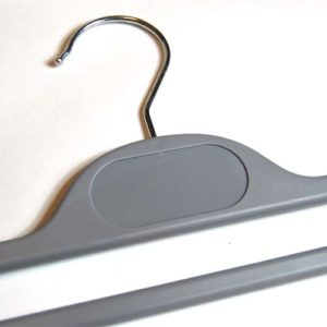 plastic hangers grey and white hangers 406 300 detail