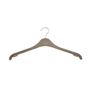 plastic hangers grey and white hangers 406 316 front