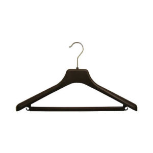 plastic hangers plastic jacket and suit hangers 402 118 frontal