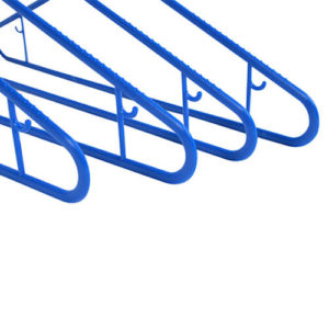 plastic hangers washing line hangers blue close ends group