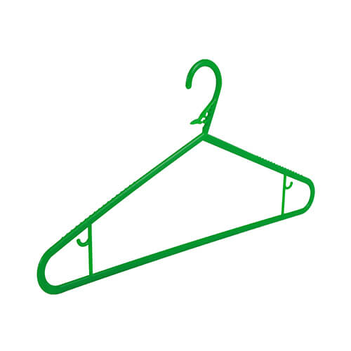 Washing Line Coat Hanger Green Non Slip Clothes Hangers The