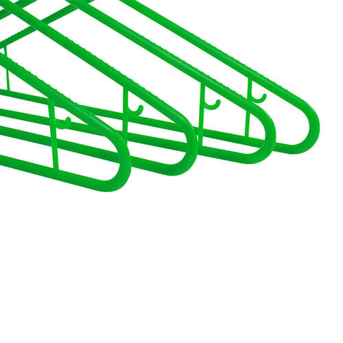 plastic hangers washing line hangers green close ends group