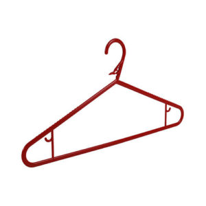 plastic hangers washing line hangers red