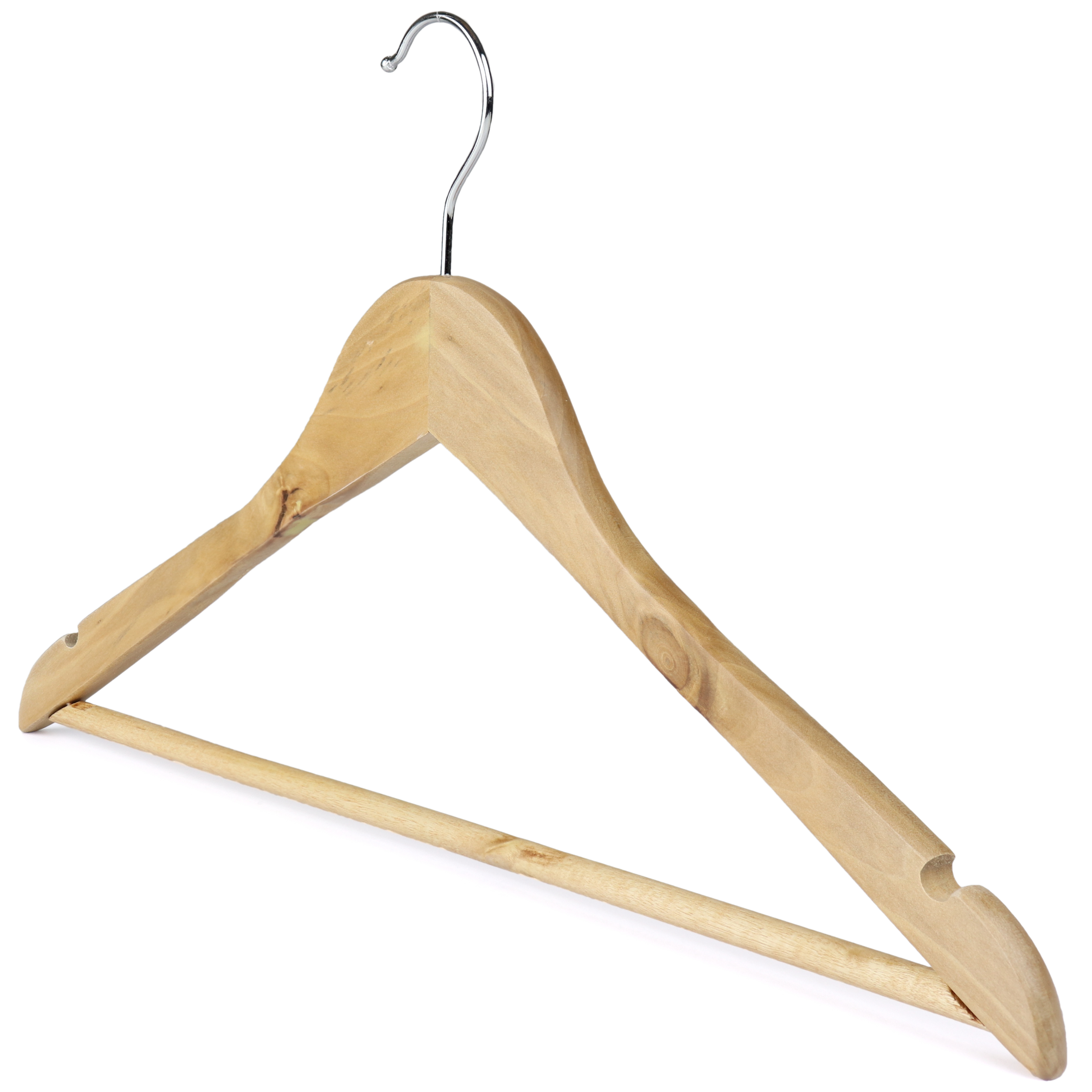 wooden hangers natural wood 402 525 group angled