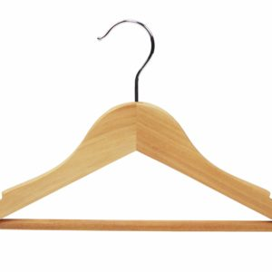 wooden hangers natural wood 402 624 frontal