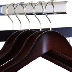Walnut Wooden Hangers