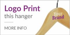 logo print hanger
